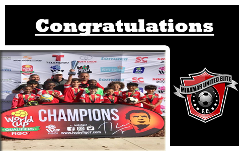 The relentless U12 Black team emerge as champions at the FIGO World Cup Qualifiers